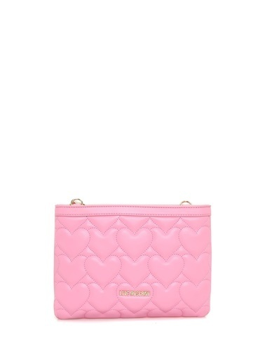 Love Moschino Clutch / El Çantası Pembe